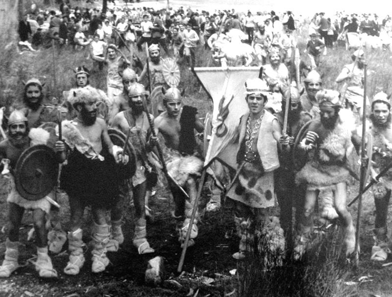 RV-38 Grupo de vikingos nas Torres