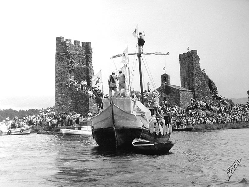 RV-45 Barco vikingo de Emilio nas Torres